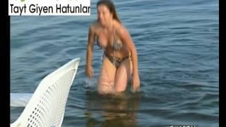 Download Pınar Aydın Bikinili Kalça Bacak Şov Video Video