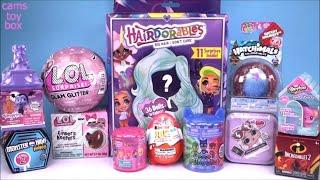 Download DOLLS LOL GLAM Glitter Hairdorables PJ Masks Shimmer Shine Vampirina Surprise TOYS Unboxing Video