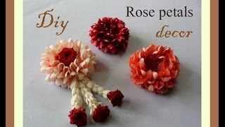 Download Do it yourself Rose petals decor Video