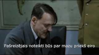 Download Hitlers uzzina, ka Latvijā ieviests eiro Video