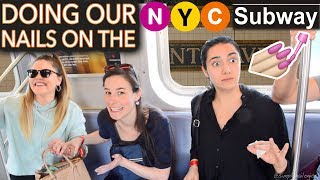 Download Painting our Nails on the NYC Subway ft. Safiya & Threadbanger (expert level) Video