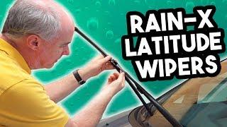 Download Rain-X Latitude Wiper Blades Review in 4k | EpicReviewGuys CC Video