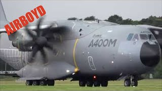 Download Airbus A400M Atlas Flight Demonstration - Farnborough Airshow 2016 (Monday) Video