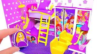 Download DIY Miniature Dollhouse Room ~ Rapunzel Room Decor, Backpack Video