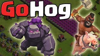 Download GoHog - 3 Sterne Angriffsstrategie || Clash of Clans [Deutsch/German HD+] Video
