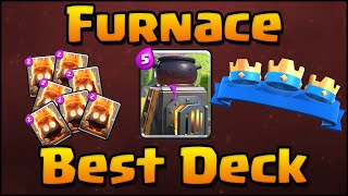 Download Clash Royale - How To Use Furnace | Best Furnace Deck & Attack Strategy for Arena 6, 7, 8 Video