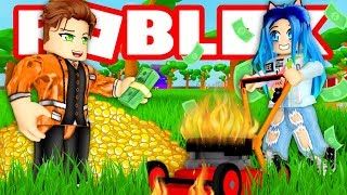 Download ROBLOX LAWN MOWING SIMULATOR! Video