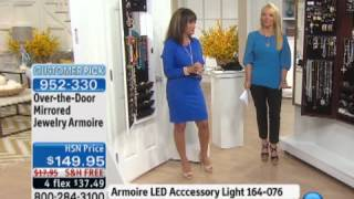 Download Over-the-Door Mirrored Jewelry Armoire Video