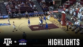 Download Men's Basketball: Highlights | Texas A&M 84, UCSB 65 Video