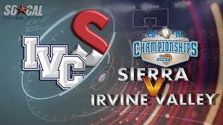 Download CCCAA Women's Basketball Quarterfinal: Irvine Valley vs Sierra - 3/8/18 - 5pm Video