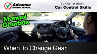 Download When To Change Gear | Learning to drive: Car control skills Video