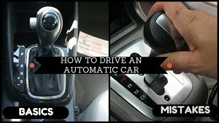 Download (HINDI/URDU) How to drive An Automatic car(basics/mistakes)FULL Tutorial Video