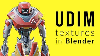 Download First Look at UDIM Textures in Blender 2.82 Alpha: What They Are and How to Use Them Video