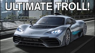 Download THE MERCEDES PROJECT ONE IS A $2.7 MILLION F**K YOU TO MCLAREN!!! Video