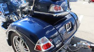 Download SOLD! 2007 Honda Goldwing GL1800 Trike - FOR SALE - Engine Start and Review - RIDE PRO Video