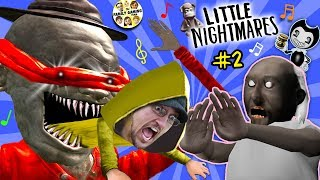 Download LITTLE NIGHTMARES #2 with GRANNY! (FGTEEV #2) Video