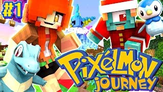 Download I CHOOSE YOU!!! - Pixelmon Journey EP.1 - DOLLASTIC PLAYS with MicroGuardian Video