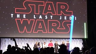 Download FAN REACTION: ″The Last Jedi″ trailer debuts at Star Wars Celebration 2017 in Orlando Video