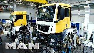 Download MAN truck production - Munich Video