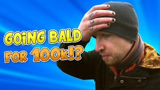 Download SHAVING MY HEAD FOR 100K SUBSCRIBERS!! REAL HAIR REVEALED!? Video