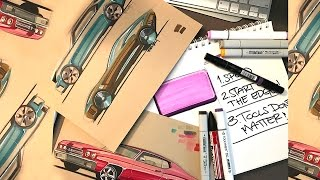 Download How to Sketch with Markers - Part 1 (Tools don't matter) Video