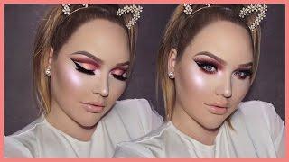 Download ROSE GOLD Cut Crease Smokey Eyes - THANKSGIVING Makeup Tutorial Video