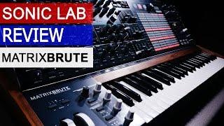 Download Arturia MatrixBrute Review - Sonic LAB Video