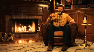 Download Nick Offerman's 'Yule Log' Video