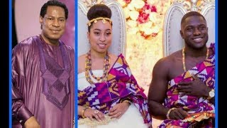 Download Ghana Meets Nigeria! Pastor Chris Gives Out Daughter, Sharon to Frimpong in Marriage Video