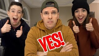 Download DAD SAYS YES TO EVERYTHING FOR 24 HOURS!! Video
