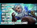 New Hero Harith Complete Guide! | Spells, Best Build, Skill Combo's, Tips & Tricks | Mobie Legends