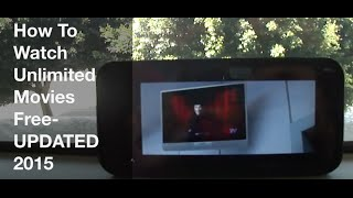 Download How to Watch Unlimited Movies For Free From Your Android Phone or PC||2015 Video