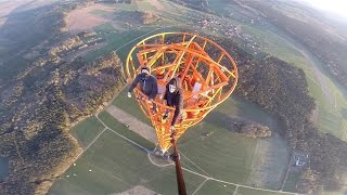 Download Climbing a 363m Radio Tower in Germany-GYK Video