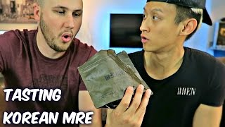 Download Tasting Korean Military MRE (Meal Ready to Eat) Video