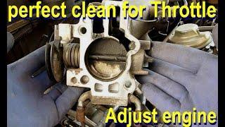 Download الطريقة الصحيحة والفعالة لتنظيف البوابة والمانيفول وضبط المحرك Video