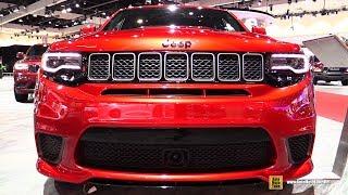 Download 2018 Jeep Grand Cherokee Track Hawk - Exterior and Interior Walkaround - 2017 LA Auto Show Video