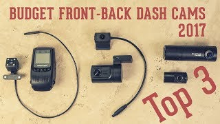 Download Top 3 Budget Front & Back Dash Cameras (Dual Channel Cams): Mini 0906, Blackvue DR490, Pruveeo F5 Video