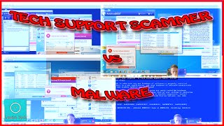 Download Tech Support Scammer vs Real Malware Video