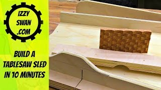 Download build a tablesaw sled in 10 minutes Video