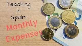Download Teaching English in Spain: Monthly Expenses Video