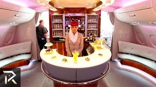 Download 10 Luxurious First Class Flights For The Rich Video
