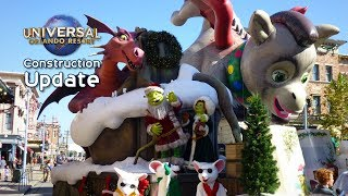 Download Universal Orlando Update: Fast & Furious Construction, Christmas in Wizarding World, Parade and More Video