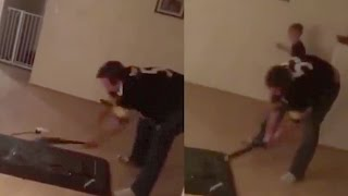Download Psychotic Steelers Fan Loses Sh*t After Cowboy Wins (Warning: Disturbing Content) Video