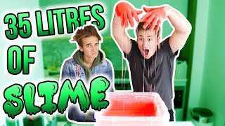 Download MAKING 35 LITRES OF SLIME WITH JOE SUGG Video
