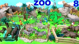 Download Wild Zoo Animal Toys For Kids - Learn Animal Names and Sounds - Learn Colors Video