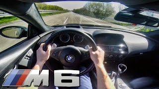 Download BMW M6 Coupe V10 POV Autobahn TOP SPEED & Acceleration Test Drive Video