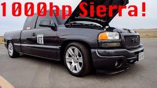 Download 1000hp Turbo GMC Sierra vs 1000hp Turbo Jeep SRT8 Video