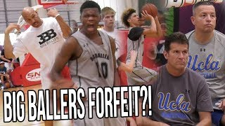 Download Lavar Ball FORFEITS Playoff Game In Front Of UCLA Coaches! Because REFS! Whole Team WALKS OUT! Video