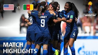 Download USA v Cameroon - FIFA U-17 Women's World Cup 2018™ - Group C Video