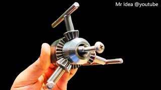 Download Wow! 4 Awesome Life Hacks with Drill Chuck from Drill Machine DIY Video